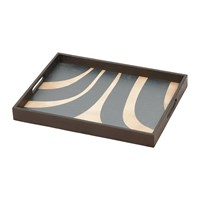 Notre Monde Slate Curves Tray