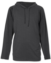 Jem Men's Solid Pullover Hoodie Charcoal Heather
