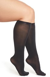 Plus Size Women's Charnos Opaque Knee Highs