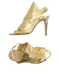 Space Style Concept Footwear Sandals Women Gold