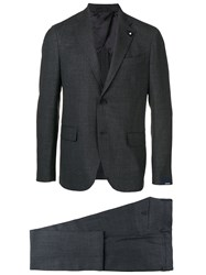 Lardini Two Piece Dinner Suit Grey