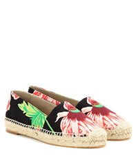 Stella Mccartney Floral Printed Espadrilles Multicoloured