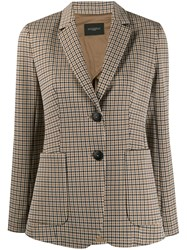 Antonelli Hounds Tooth Tailored Blazer 60