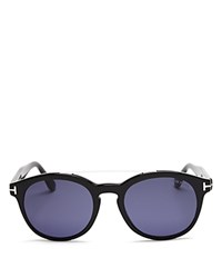 Tom Ford Newman Round Sunglasses 53Mm Blue