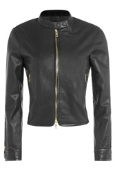 Rag And Bone Rag And Bone Leather Biker Jacket Black