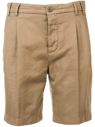 Aspesi Straight Leg Shorts Neutrals