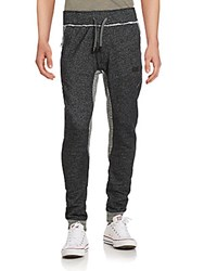 Prps Drawstring Zip Pocket Pants Dark Grey