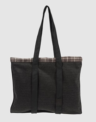 Simona Tagliaferri Large Fabric Bags Dark Brown