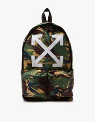 Off White Arrows Backpack Camo All Over