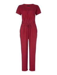 Label Lab Becka Jumpsuit Berry