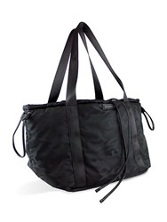 Kendall Kylie Spacious Woven Tote Black