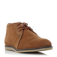 Original Penguin Legal Suede Desert Chukka Boots Tan