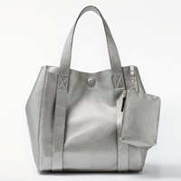 John Lewis Kin By Erika Small Tote Bag Silver