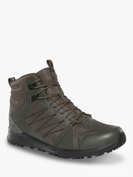 The North Face Litewave Fastpack Ii 'S Waterproof Gore Tex Hiking Boots New Taupe Green Tnf Black
