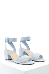 Forever 21 Faux Suede Ankle Strap Sandals