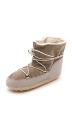 Anniel Winter Hiker Boots Beige