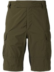 Versus Knee Length Cargo Shorts Green