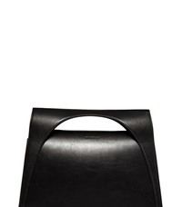 J.W.Anderson J.W. Anderson Large Leather Moon Bag Black