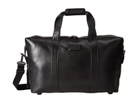 Tumi Alpha 2 Small Soft Leather Travel Satchel Black Handbags