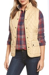 Barbour Women's 'Saddleworth' Quilted Vest Pearl