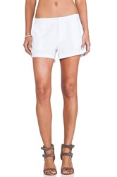 Bobi Linen Short White