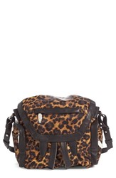 Alexander Wang Mini Marti Leopard Print Nylon Backpack