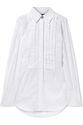 Alexachung Oversized Cotton Poplin Shirt White