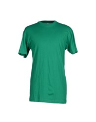American Apparel Topwear T Shirts Men Green