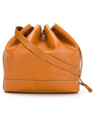 Hermes Vintage Bucket Bag Nude And Neutrals