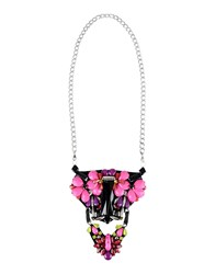 Alberta Ferretti Necklaces Fuchsia