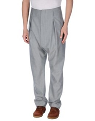 Vivienne Westwood Man Casual Pants Light Grey