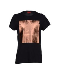 Red Collar Project T Shirts Black