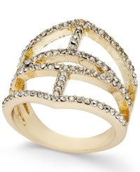 Inc International Concepts Gold Tone Pave Ring Only At Macy's