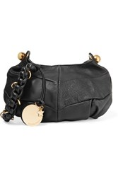 See By Chloe Madie Small Textured Leather Shoulder Bag Black