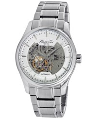 Kenneth Cole New York Men's Automatic Stainless Steel Bracelet Watch 43Mm 10027200 No Color