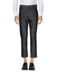 Paolo Pecora Casual Pants Steel Grey