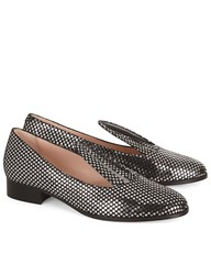 Minna Parikka Glitter Star Bunny Loafers Black