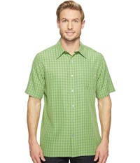 Marmot Eldridge S S Field Green Men's Short Sleeve Button Up