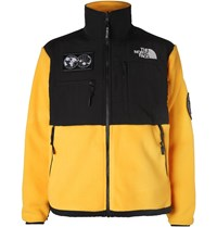 The North Face Summit Series 1995 Retro Denali Panelled Fleece And Shell Jacket Yellow