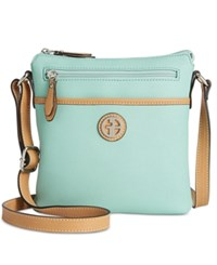 Giani Bernini Saffiano Crossbody Only At Macy's Macaron
