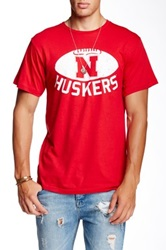 Original Retro Brand Wisconsin Burkhead 22 Tee Red