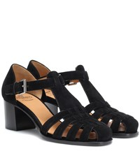 f75521f5dcd Church s Kelsey Suede Sandals Black