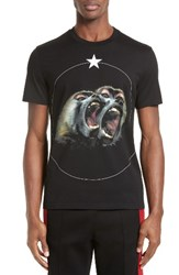 Givenchy Men's Monkey Brothers Graphic T Shirt