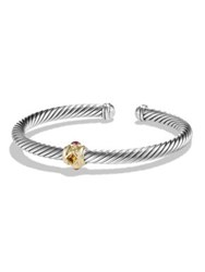 David Yurman Renaissance Bracelet With 14K Gold Silver Multi