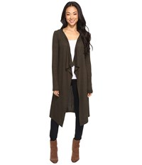 Culture Phit Analiese Long Cardigan Olive Women's Sweater