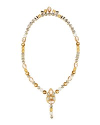 Lydell Nyc Multicolor Front To Back Necklace 30 L