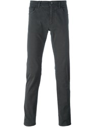 Dolce And Gabbana Slim Fit Tailored Trousers Grey