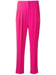 Ungaro Emanuel Vintage 1980'S Tapered Trousers Pink