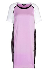 Dkny Colorblock Shift With Mesh Side Panels Pink