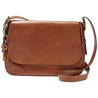 Fossil Harper Across Body Bag Brown